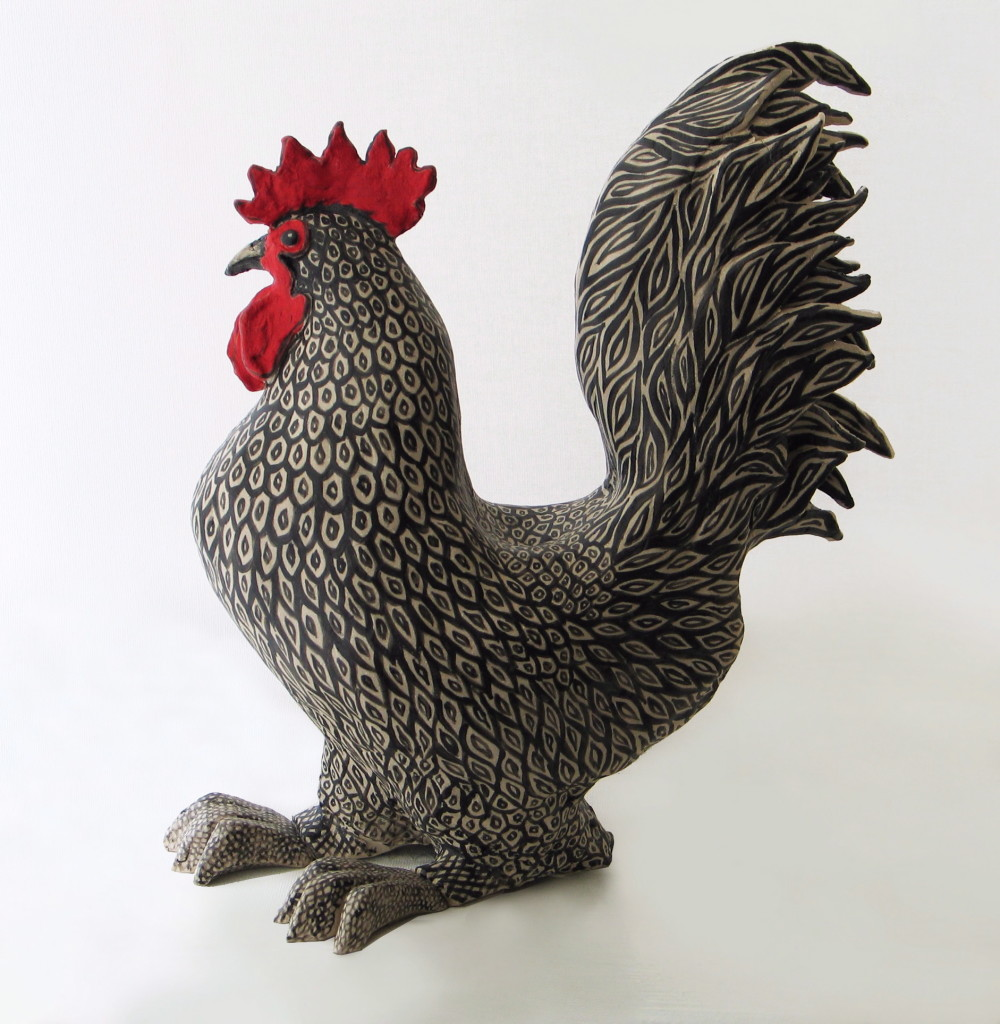 Maran Cockerel – 280 x 290 x 130 mm