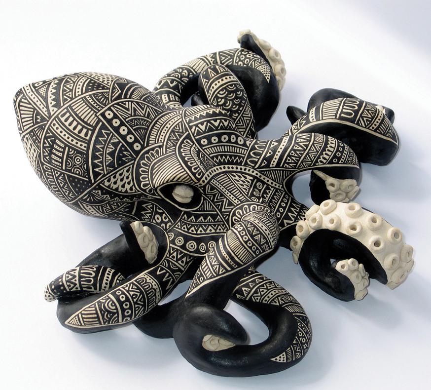 Octopus – 200 x 260 x 130 mm